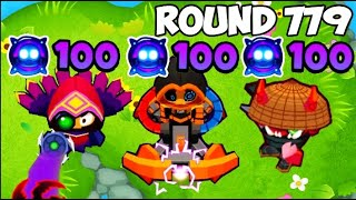 How Far Can You Get With All Paragons Maxed Out? - Bloons TD 6 Late Game