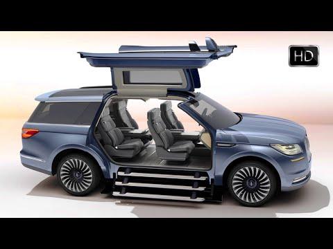 2018 Lincoln Navigator Concept Luxury SUV Exterior Interior Design HD