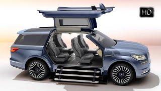 2018 Lincoln Navigator Concept Luxury SUV Exterior & Interior Design HD