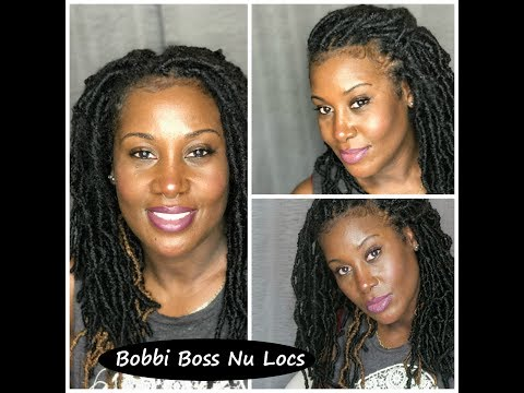 Bobbi Boss Nu Locs/Rubber band method/My first attempt/Whenthe2meet/