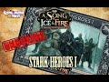 Unboxing A SONG OF ICE AND FIRE  - Stark Heroes 1
