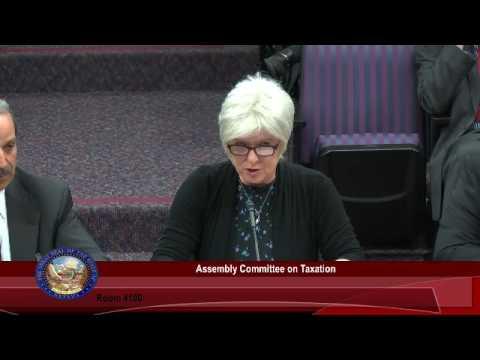 Nevada Legislative Hearing on AB43 Taxes 9Mar17