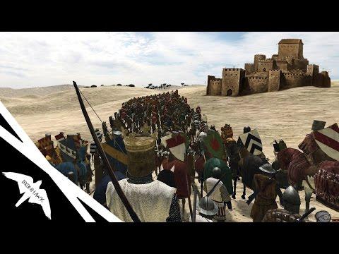 Crusader Army Sieges Jerusalem! - Mount & Blade 1257 AD Mod