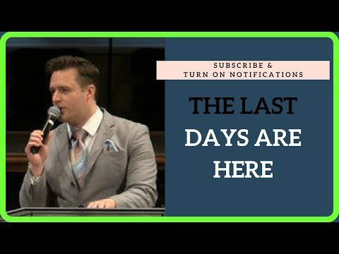 The Last Days are Here | Josh Herring Ministering