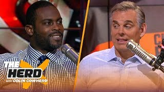 49ers playing like the early 90s team, talks Wentz, Eagles & more — Michael Vick | NFL | THE HERD