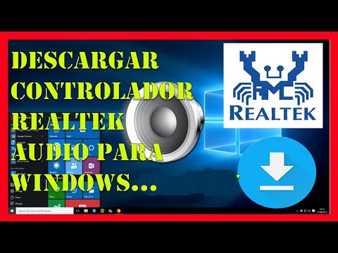 Instalar Driver REALTEK HIGH DEFINITION AUDIO Windows 10, 8 Y 7【Recomendado 2019】