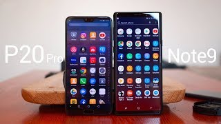 Samsung Galaxy Note 9 vs Huawei P20 Pro - The Battle of Ultimate Flagships 2018