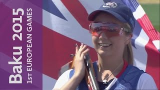 Hill holds her nerve in a high quality Gold Medal Match | Shooting | Baku 2015 European Games