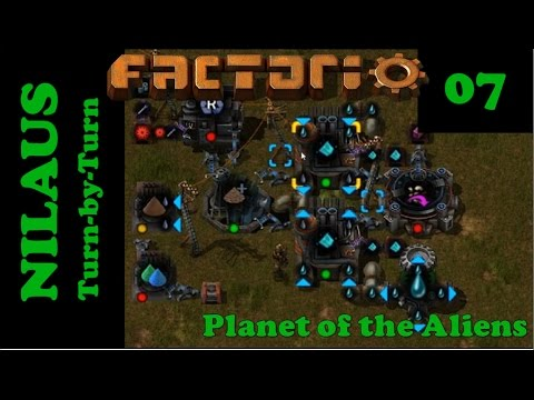 Lets Play Factorio S5E07 - Unicomp from Improved Dirt Mining