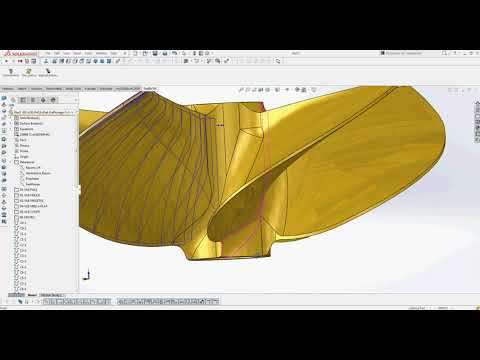 Marine Propeller#Vba#Automatic design#Solidworks