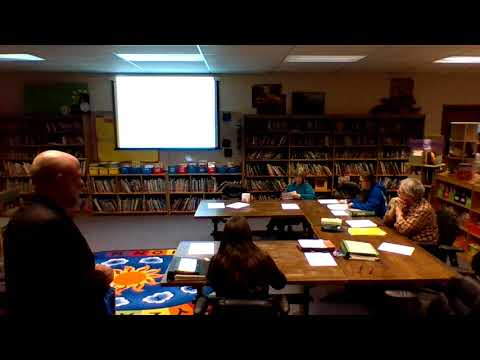 January 11, 2018 Budget Workshop - Minerva Central School