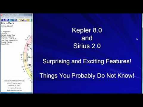 Some Innovations of the Kepler and Sirius Software, Part 2