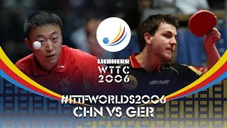 🇨🇳 China VS Germany 🇩🇪  | #ITTFSmashBack #ITTFWorlds2006
