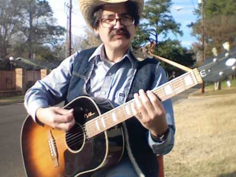 """Cowboy Cold"" - Music Video - Open C Tuning"