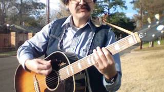 """""""Cowboy Cold"""" - Music Video - Open C Tuning"""