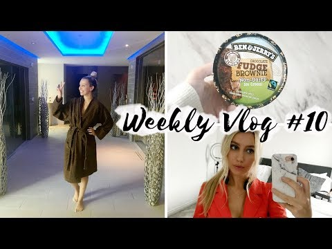 SPA DAY, NEW ARRIVALS & BEN & JERRYS NON DAIRY ICE CREAM UK! Weekly Vlog #10 | Scarlett London