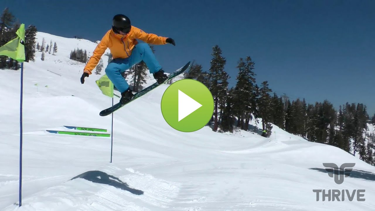Snowboarding air tricks