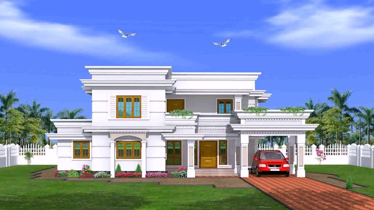 Parapet design for house in kerala youtube - Design a building online free ...