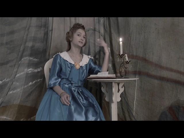 Изображение предпросмотра прочтения – «Театральная студия Азбука театра» читают произведение «Есть в осени первоначальной...» Ф.И.Тютчева