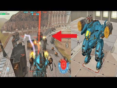 War Robots [3.2] Test Server - NEW FLYING ROBOT Gameplay !!