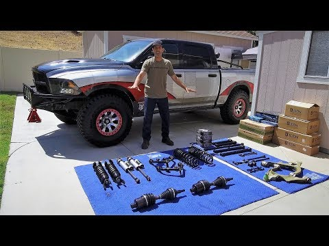 Complete Dodge Ram 1500 ICON Suspension Upgrade with RCV Performance Axles and Mevotech X Factor