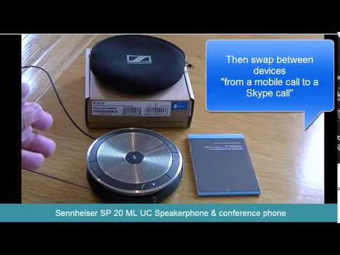 Sennheiser SP 20 Speakerphone & Conference Phone for mobile phones and PC