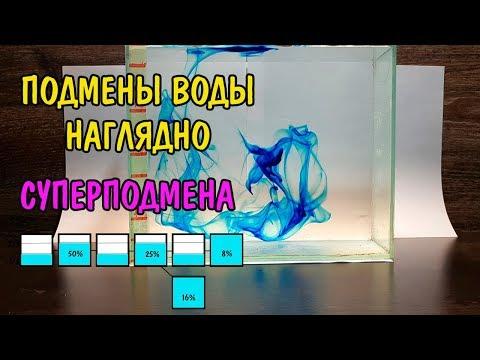 ПОДМЕНЫ ВОДЫ НАГЛЯДНО. СУПЕРПОДМЕНА. Aquarium Water Change