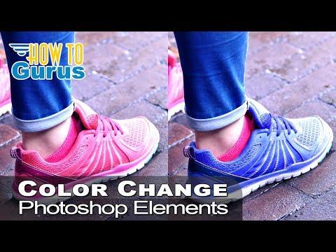 New Kicks! Photoshop Elements Change Color Of Object Or Clothing - Photoshop Elements 2019 2018 15