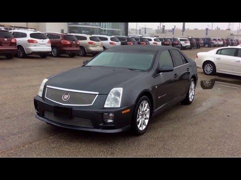 2007 Cadillac STS-V - YouTube