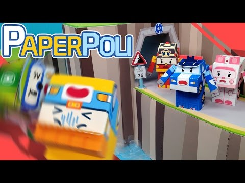 25.Safety is important! | Paper POLI [PETOZ] | Robocar Poli Special