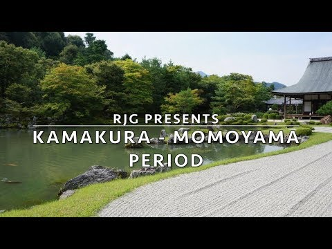 Real Japanese Gardens presents: From the Kamakura- to the Momoyama Period