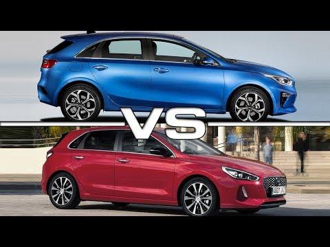 2019 Kia Ceed vs 2018 Hyundai i30