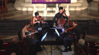 "Attacca Quartet plays Haydn Op. 64 no. 5 ""The Lark"" -- Third Movement"