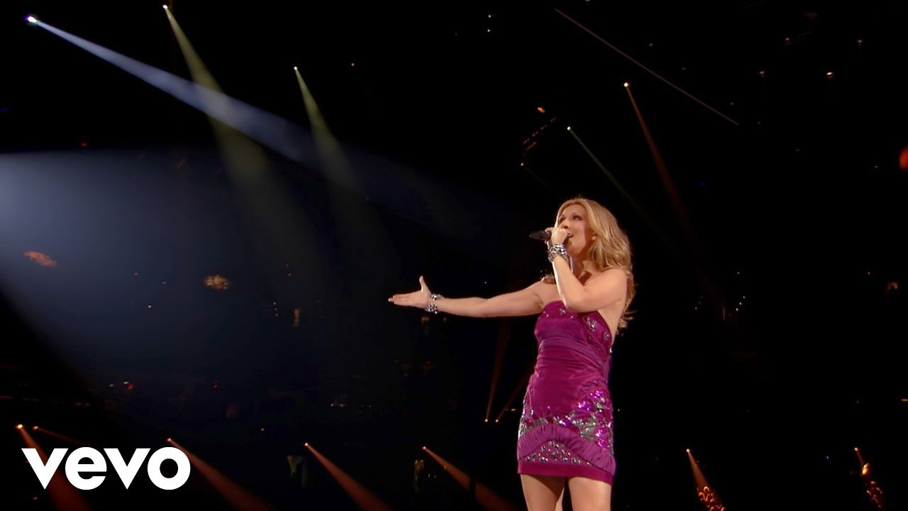 Cline Dion  Hits Medley Taking Chances World Tour The Concert