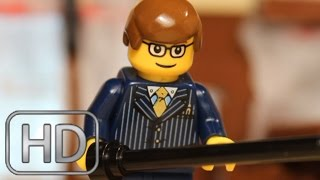 "Kingsman: The Secret Service | ""Bar Fight"" Scene IN LEGO"