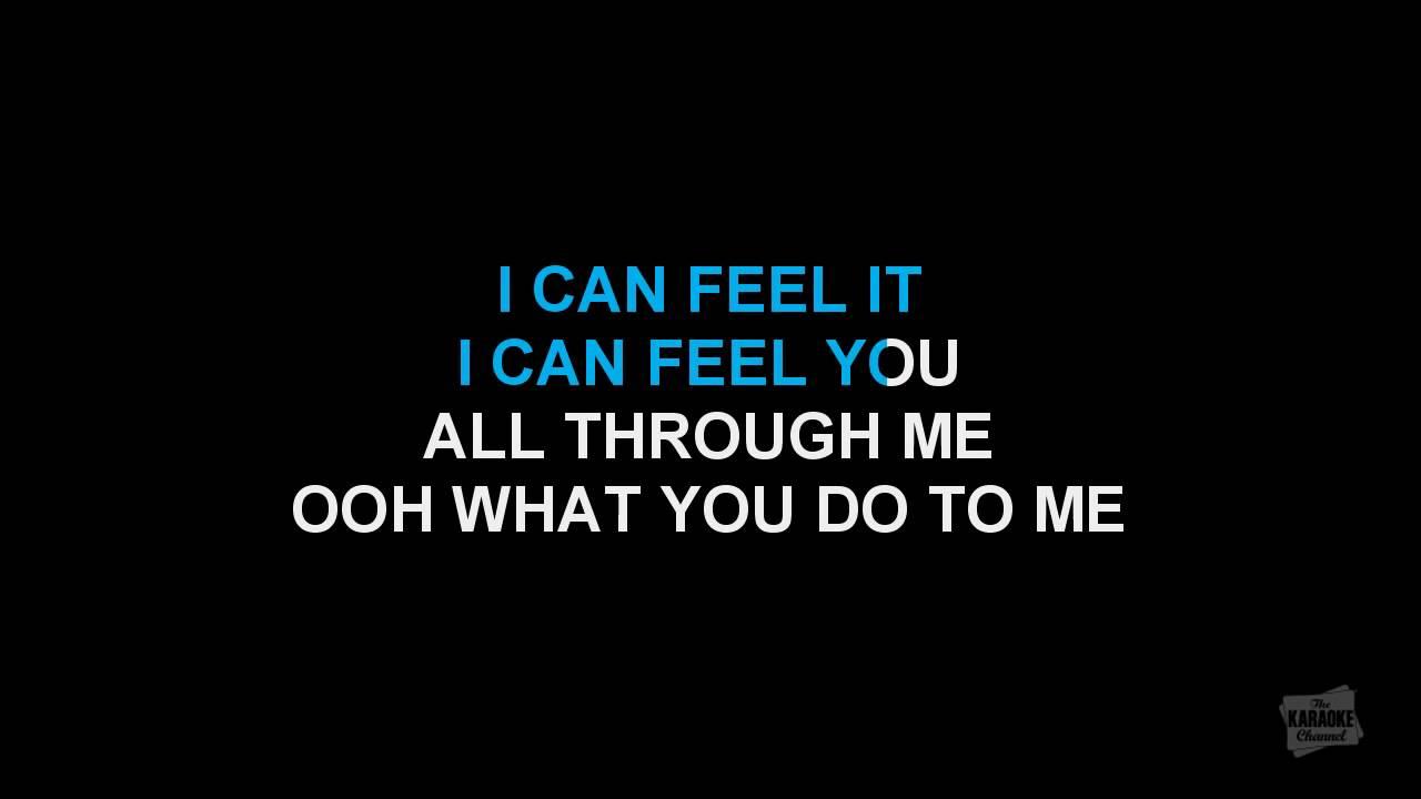 Rush Rush in the style of Paula Abdul, karaoke video with lyrics