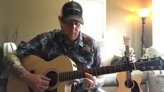 God's Country- Blake Shelton (guitar lesson) Video