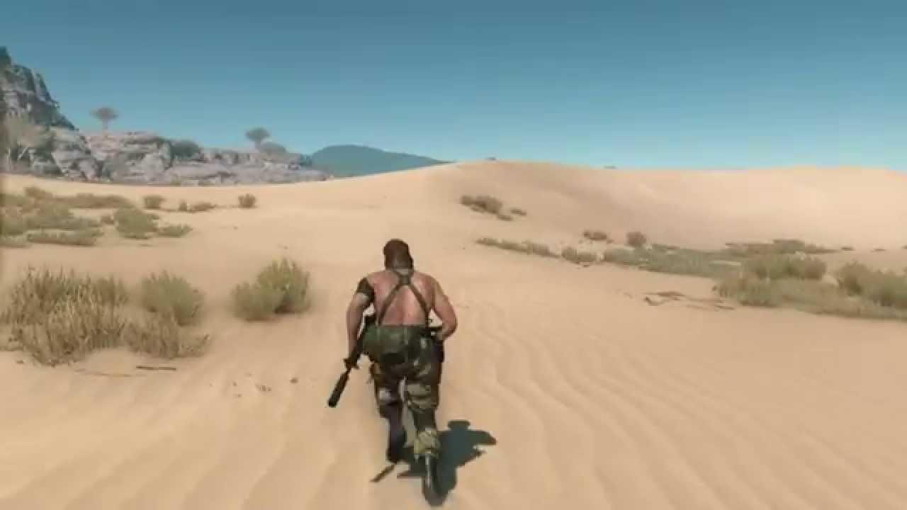 MGS5 TPP Mod Progress - Naked Naked Snake Mod (2 arms, GZ BB Head)