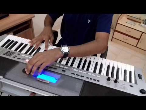 Aaja Sanam-(Chori Chori)-Instrumental On Keyboard
