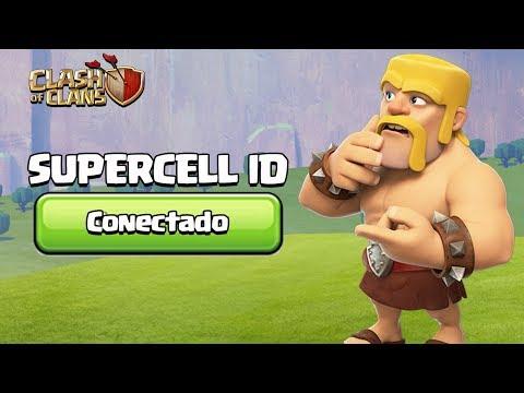 TUDO SOBRE O SUPERCELL ID! CLASH OF CLANS