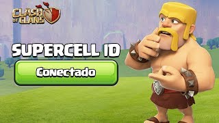 TUDO SOBRE O SUPERCELL ID! CLASH OF CLANS