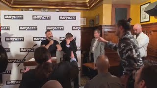 Austin Aries v Johnny Impact at Abyss HOF was a Work here's the proof
