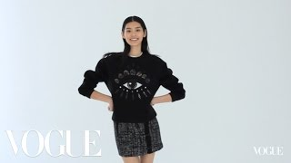 Ming Xi - Model Wall - Vogue Diaries