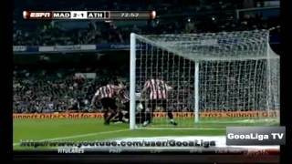 real madrid vs athletico bilbao 5 1 08 5 2010 full goals and highlights