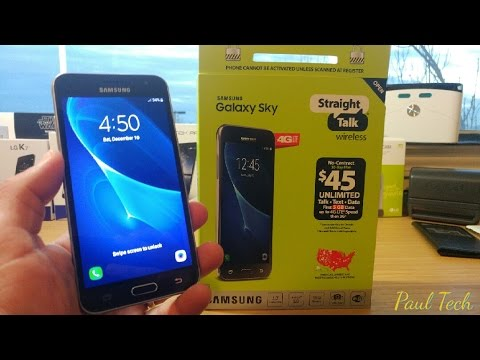 Samsung Galaxy Sky Unboxing and first...