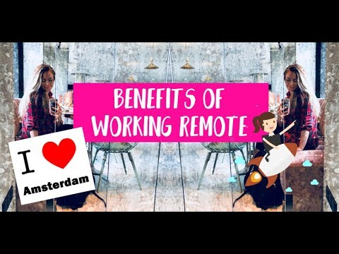 Benefits of Working Remote in Amsterdam | Daily Life of Entrepreneurs