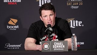 CHAEL SONNEN'S FULL POST FIGHT PRESS CONFERENCE - RAMPAGE VS SONNEN