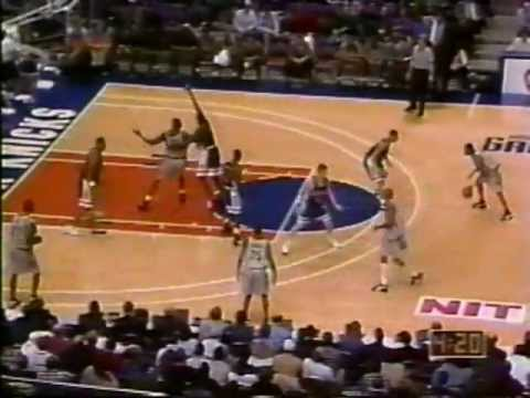 Allen Iverson - Georgetown Highlights against Arizona - 40 point game!