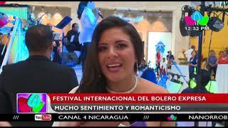 Festival Internacional del Bolero expresa mucho sentimiento y romanticismo