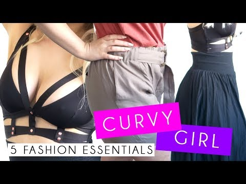 TOP 5 CURVY FASHION ESSENTIALS | MUST HAVES FOR THICK GIRLS. http://bit.ly/2Xc4EMY